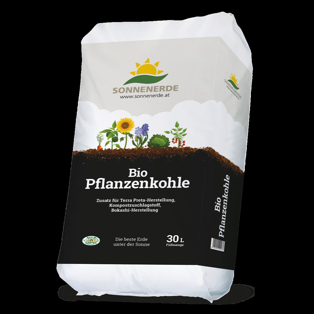 Pflanzenkohle für Terra Preta, 30 l / 4 kg