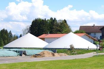 Biogasanlage im Allgäu