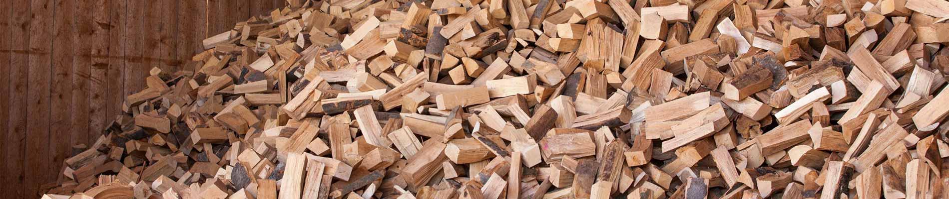Biomassehof Brennholz