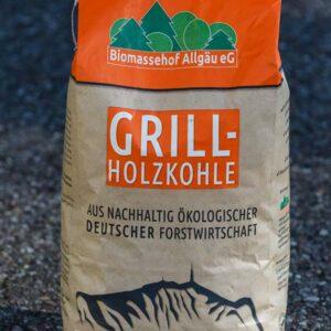 Grill-Holzkohle Biomassehof Allgäu e.G.