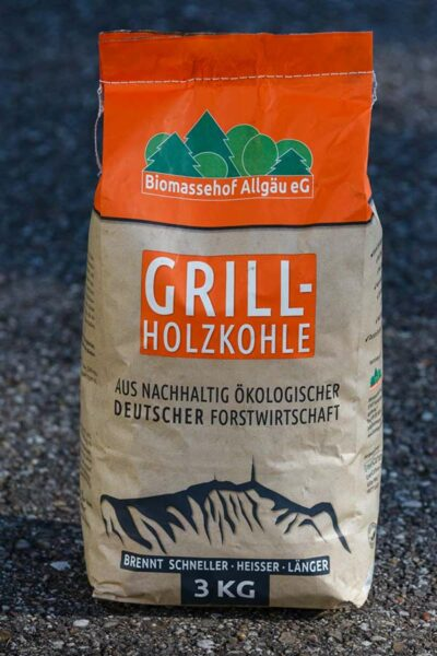 Grill-Holzkohle Biomassehof Allgaeu e.G.
