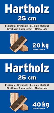 Hartholz Mini Bag 25 cm
