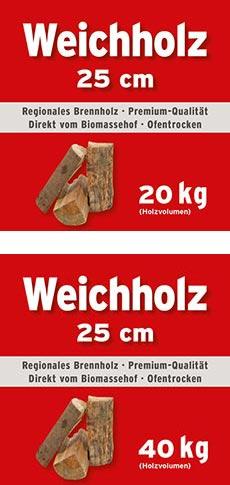 Weichholz Mini Bag 25 cm