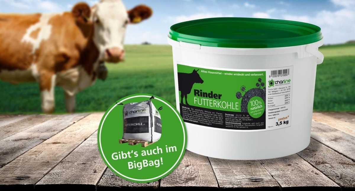 Rinder-Futterkohle 3,5 kg